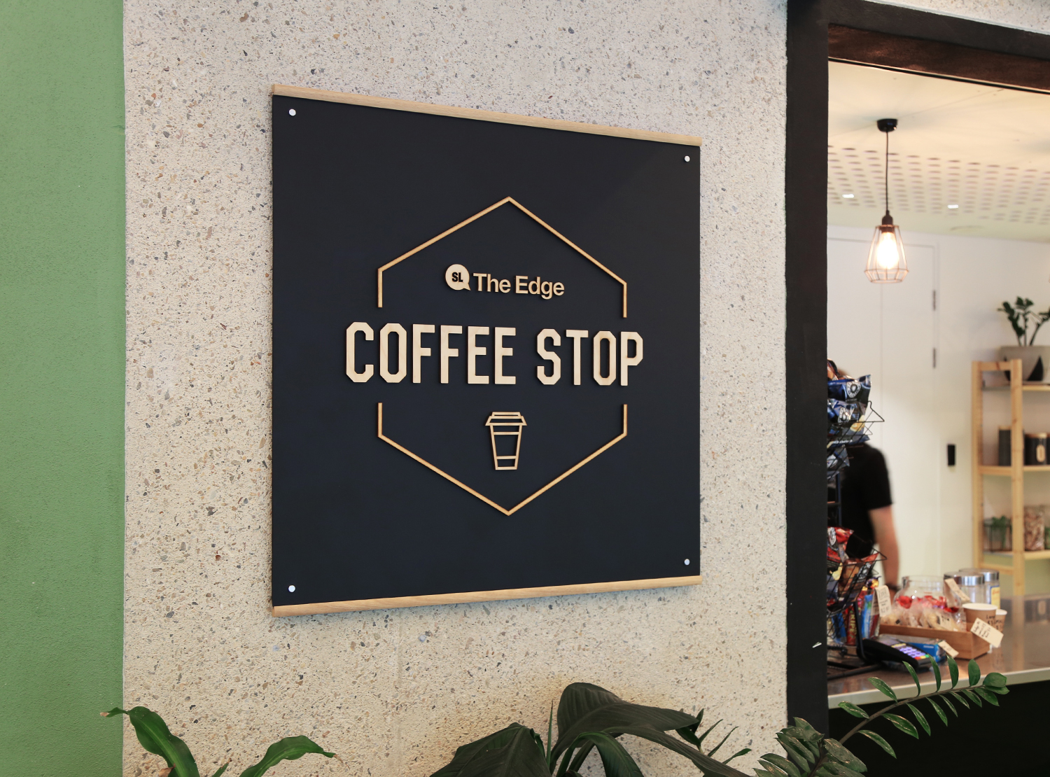 Coffee Stop Branding & Sign Creation