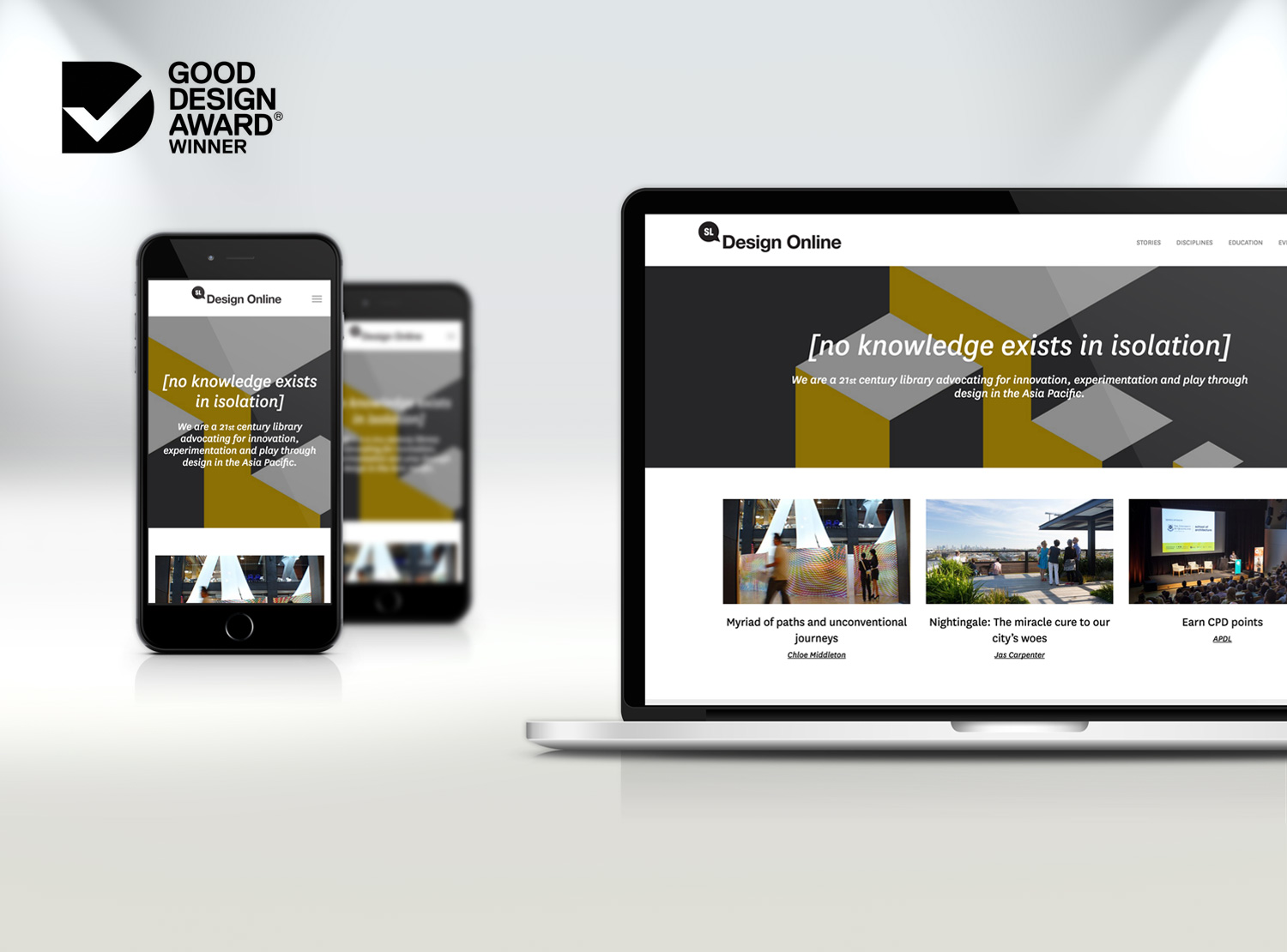 Good Design Award 2018 awarded to Design Online