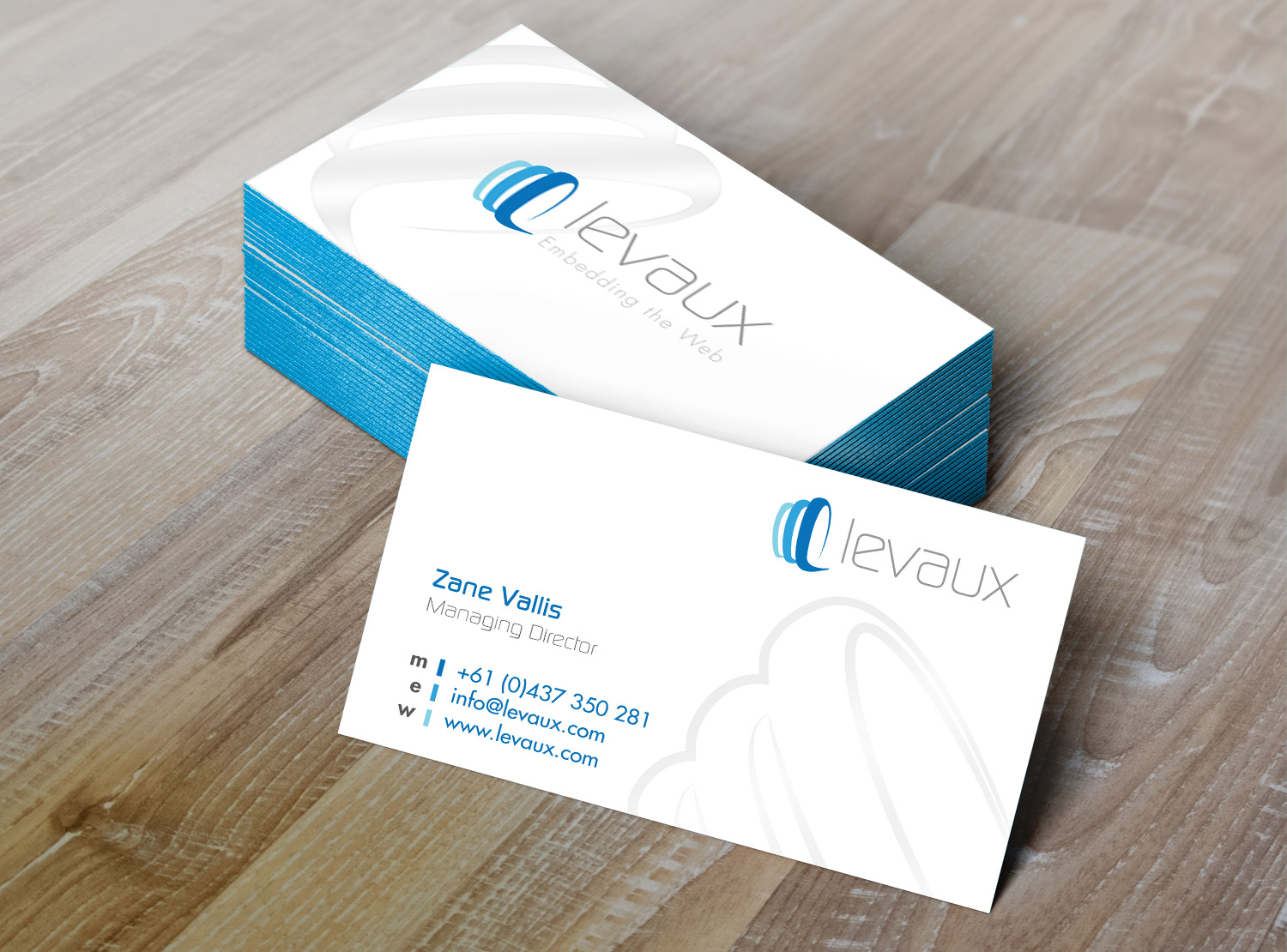 Levaux Business Card
