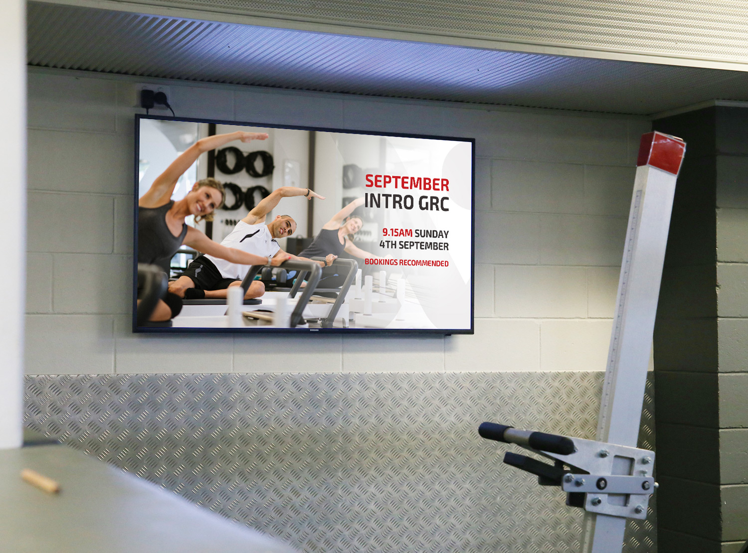 Workout Digital Signage