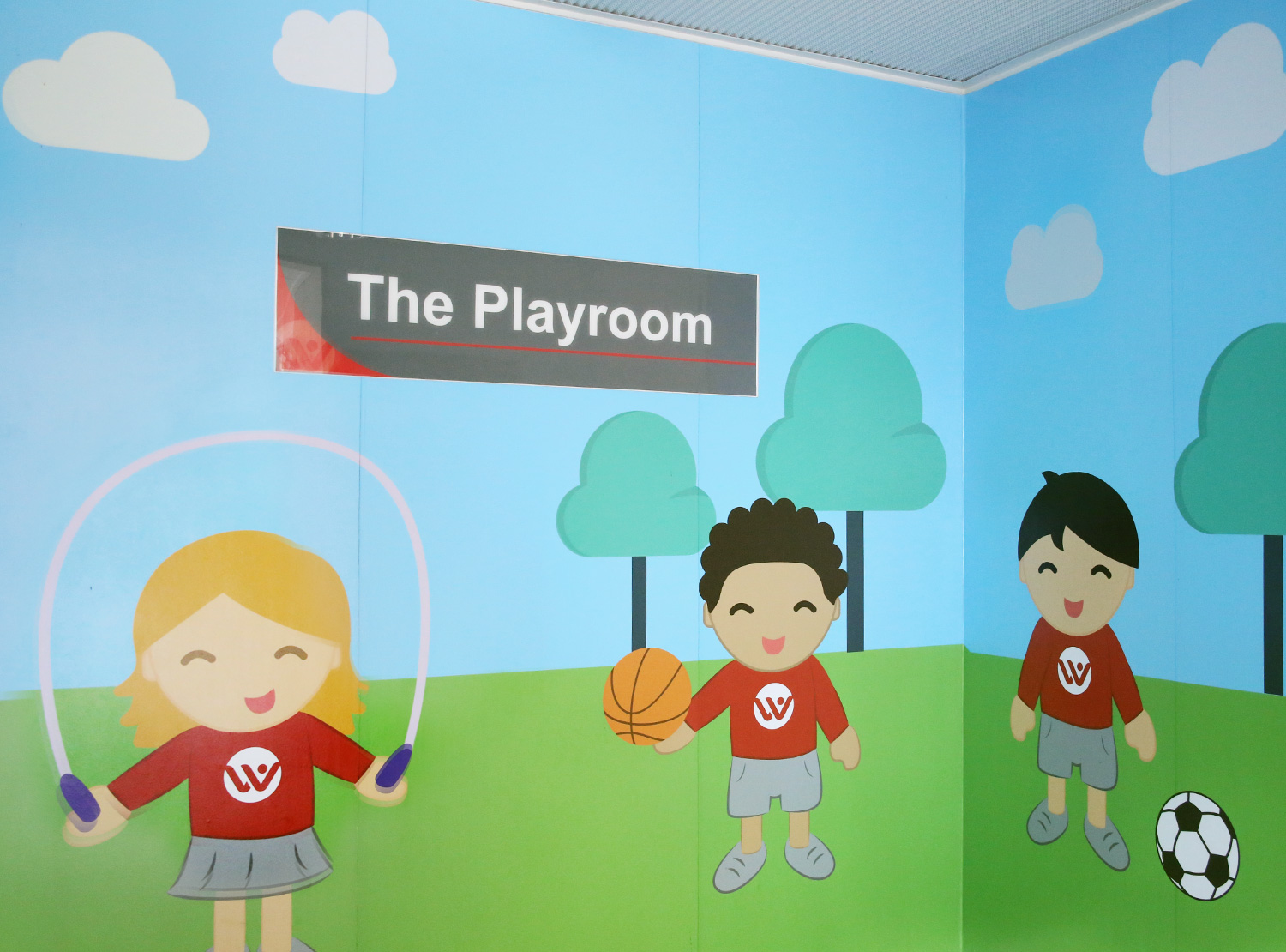 Vinyl Design for the Playroom